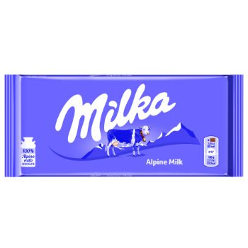 Šokolāde Milka ar Alpu pienu 100g