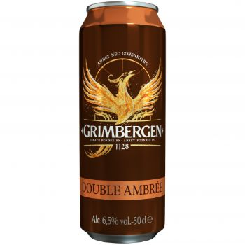 Alus Grimbergen Double Ambree 6.5% 0.5l can