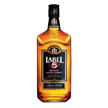 Viskijs Label 5 40% 0.7l