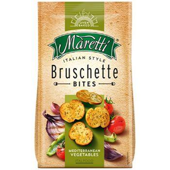 Sausmaizītes Bruschette ceptas ar jauktu dārzeņu garšu 70g