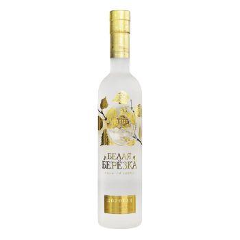 Degvīns Belaja Berezka Zolotaja 40% 0.7l+2gl.