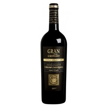 Vīns Gran Castillo Tinto Family sarkans 12.5% 0.75l