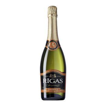 Dzirkstošais vīns Rīgas Sweet muskata 11.5% 0.75l