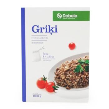 Griķi Dobele 8*125g
