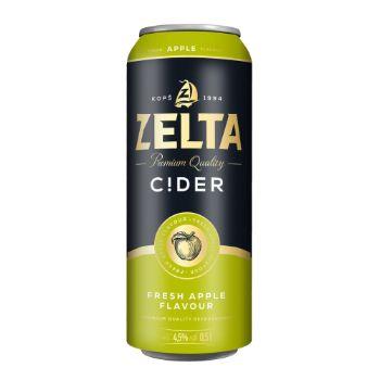 Alus kokt. Zelta Cider 4.5% 0.5l can