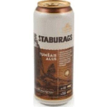 Alus Staburags tumšais 5.2% 0.5l can