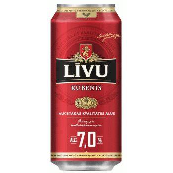 Alus Līvu Rubenis 7.0%  0.5l can