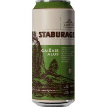 Alus Staburags gaišais 5.2% 0.5l can