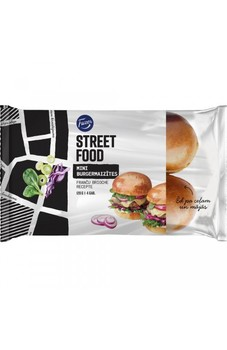 Burgermaizītes Street Food Mini Brioche 120g