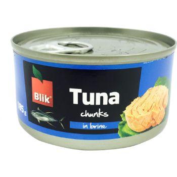 Tuncis savā sulā Chunks gabaliņos 185g/130g