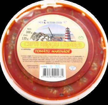 Reņģu liemeņi cepti tomātu marinādē 300g