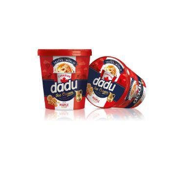 Saldējums Dadu ar Kļavu sīrupu un kar. valriekstiem 400ml/25
