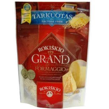 Rīvēts cietais siers Grand 37% 12men 80g