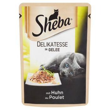 Barība kaķiem Sheba Cuisine pouch beef cig 85g
