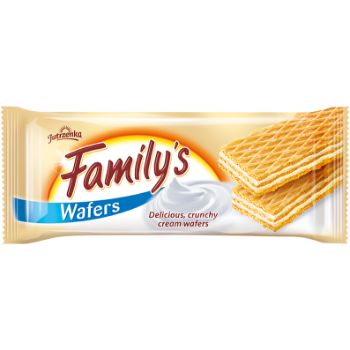 Vafeles Family ar krējuma pild.180g