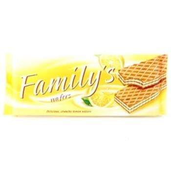 Vafeles Family Citronu 180g
