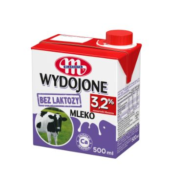 Piens 3.2% bezlaktozes UHT 500ml