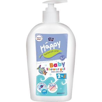Dušas želeja bērniem 300ml Happy Natural Care