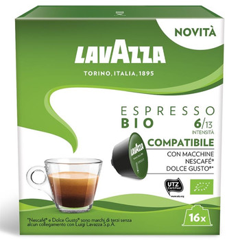Kafijas kapsulas Lavazza DGC Ekspresso BIO 120g
