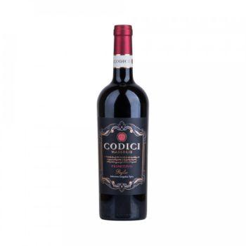 Vīns Codici primitivo sauss sarkans 13.5% 0.75l