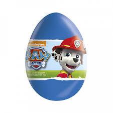 Šokolādes ola Paw Patrol 20g