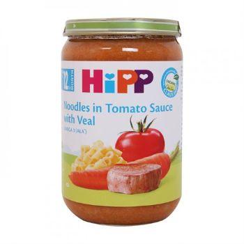 Biezenis Hipp teļa gaļa ar tomātiem - nūdelēm 220g