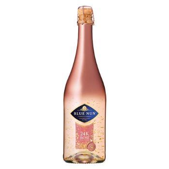 Dzirkstošais vīns Blue nun Sparkling 24k Rose 11% 0.75l