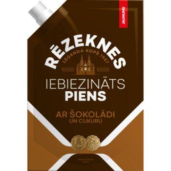 Piens iebiez. ar šokolādi Rēzeknes Leģenda 250g