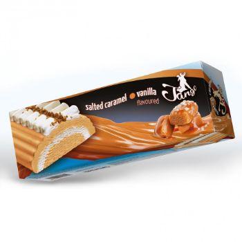 Saldējuma rulete Tango vaniļas ar sāļo karameli 1000ml/480g