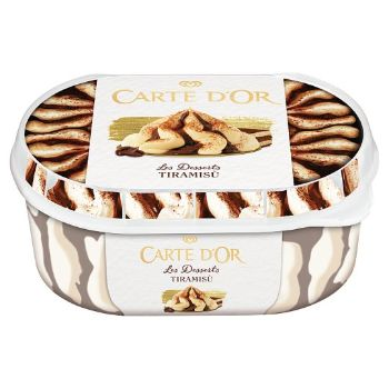 Saldējums Carte Dor Tiramisu 900ml