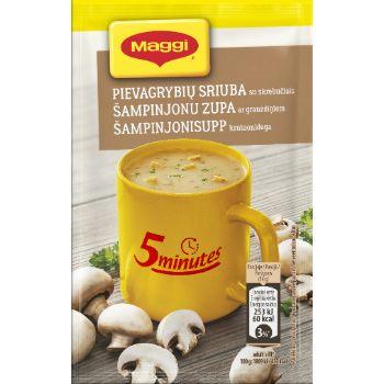 Zupa Maggi šampinjonu ar grauzdiņiem 13g