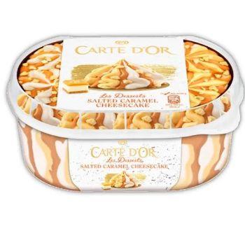 Saldējums Carte Dor Cheesecake 900ml/550g