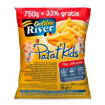 Kartupeļi frī Lutosa Golden river 750g+33%