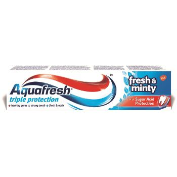 Zobu pasta Aquafresh Fresh&Minty 100ml