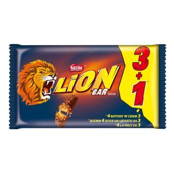 Šokolādes batoniņš Lion multipack 3+1 168g