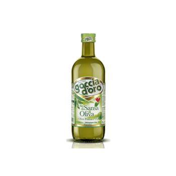 Olīveļļa Pomace Goccia Doro stikls 1l