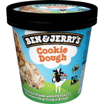 Saldējums B&J Cookie Dough 465ml/406g