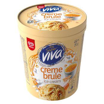 Saldējums Super Viva creme brulee 450ml/245g