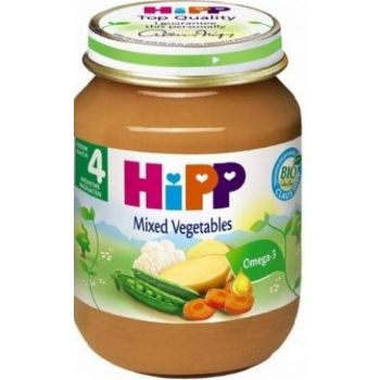 Pārtika bērniem Hipp dažādu dārzeņu 125g