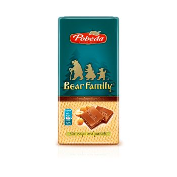 Šokolāde Piena ar vafeļu kraukšķiem 80g
