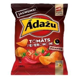 Čipsi Ādažu tomāts un peperončīni 150g
