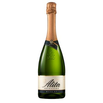 Dzirkstošais vīns Alita Muscat 11% 0.75l