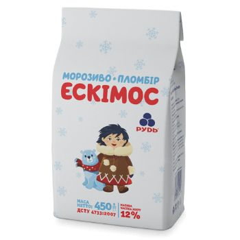 Saldējums Eskimos vaniļas kokteiļiem 750ml/450g