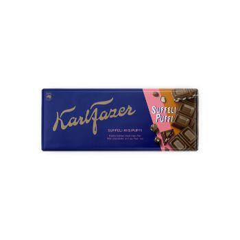 Šokolāde Karl Fazer ar Suffeli rīsu kraukšķiem 198g