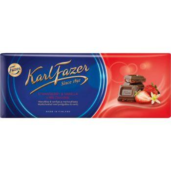 Šokolāde Fazer zemeņu 190g
