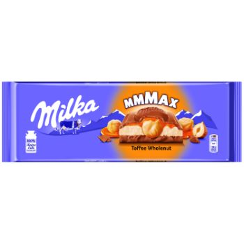 Šokolāde Milka Toffee whole nuts 300g