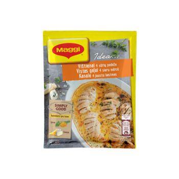 Garšviela Maggi Ideja vistas gaļai četru sieru mērce 32g