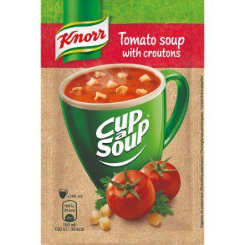 Zupa Knorr Cas tomātu ar grauzdiņiem 19g