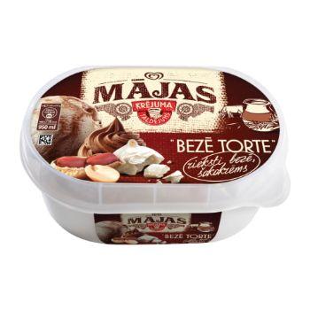 Saldējums Mājas Bezē torte 950ml/486g