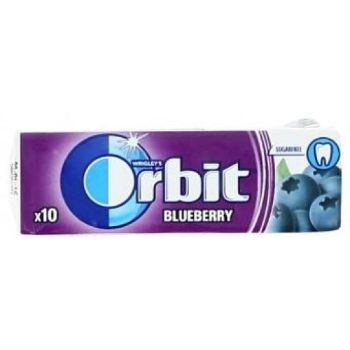 Košļ.gumija Orbit Blueberry 14g